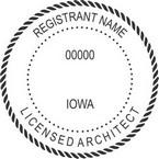 Iowa Licensed Architect Seals