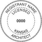 Kansas Licensed Architect Seals