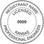 Kansas Professional Engineer Seals