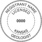 Kansas Licensed Geologist Seals
