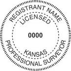 Kansas Licensed Professional Surveyor Seals