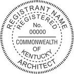 Kentucky Registered Architect Seals