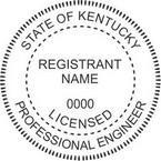 Kentucky Licensed Professional Engineer Seals