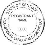 Kentucky Registered Landscape Architect Seals