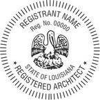 Louisiana Registered Architect Seals