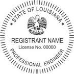 Louisiana Professional Engineer Seals