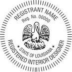 Louisiana Registered Interior Designer Seals