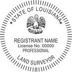 Louisiana Professional Land Surveyor Seals