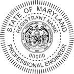 Maryland Professional Engineer Seals