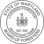 Maryland Licensed Forester Seals