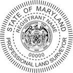 Maryland Professional Land Surveyor Seals