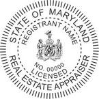 Maryland Licensed Real Estate Appraiser Seals