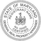 Maryland Certified Real Property Appraiser Seals
