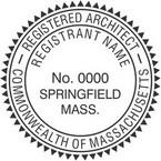 Massachusetts Registered Architect Seals