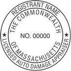 Massachusetts Licensed Auto Damage Appraiser Seals