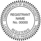 Massachusetts Licensed Site Professional Seals