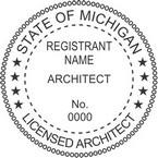 Michigan Licensed Architect Seals
