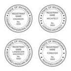 Michigan Professional Seals