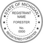 Michigan Registered Forester Seals