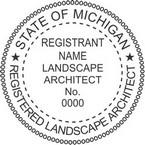 Michigan Licensed Landscape Architect Seals