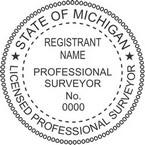 Michigan Licensed Professional Surveyor Seals