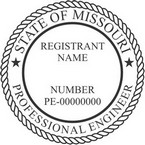 Missouri Professional Engineer Seals