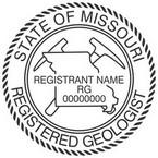 Missouri Registered Geologist Seals