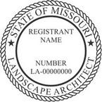 Missouri Landscape Architect Seals