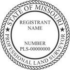 Missouri Professional Land Surveyor Seals
