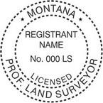 Montana Licensed Professional Land Surveyor Seals