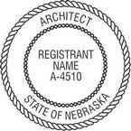 Nebraska Registered Architect Seals