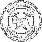 Nebraska Professional Geologist Seals
