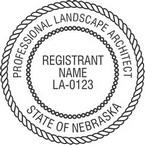 Nebraska Professional Landscape Architect Seals