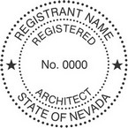 Nevada Registered Architect Seals