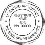 New Hampshire Licensed Architect Seals