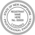 New Hampshire Licensed Professional Engineer Seals