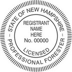New Hampshire Professional Forester Seals