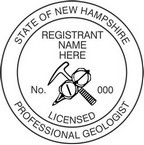 New Hampshire Professional Geologist Seals