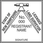 New Hampshire Licensed Land Surveyor Seals