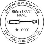 New Hampshire Certified Soil Scientist Seals