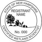 New Hampshire Certified Wetland Scientist Seals