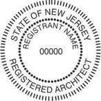 New Jersey Registered Architect Seals