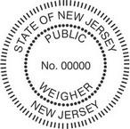New Jersey Public Weigher Seals