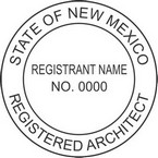 New Mexico Registered Architect Seals