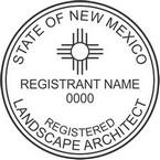 New Mexico Registered Landscape Architect Seals