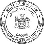 New York Licensed Professional Geologist Seals