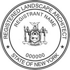 New York Registered Landscape Architect Seals