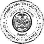 New York Licensed Master Electrician Seals