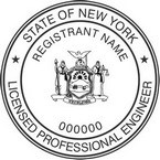 New York Licensed Professional Engineer Seals