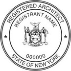 New York Registered Architect Seals